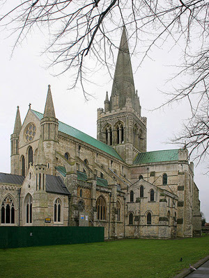 Chichester Cathedral, Chichester, West Sussex, England
