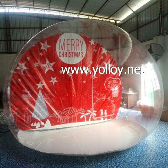 Giant Clear Snow Globe For Photo Taking Manufacturers Suppliers