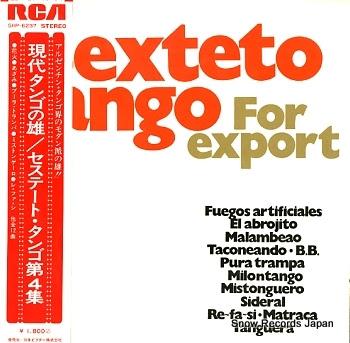 SEXTETO TANGO for export