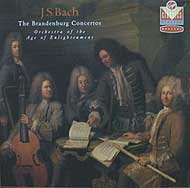 The Orchestra of the Age of Enlightenment plays the Brandenburg Concertos (Virgin CD cover)