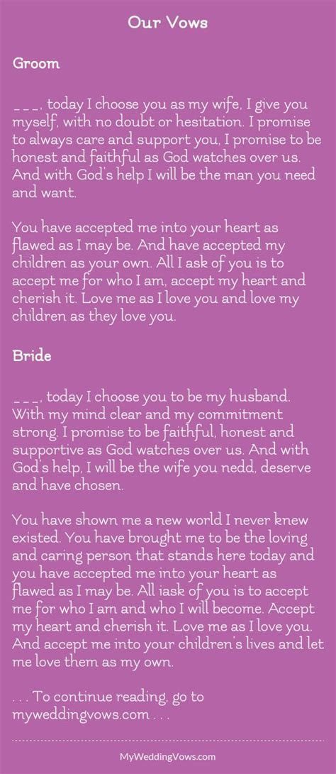 17 Best images about Wedding Vows on Pinterest   I promise
