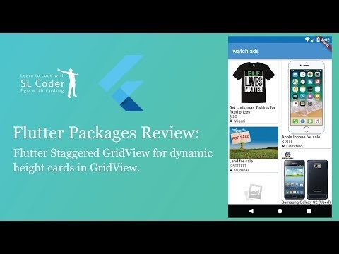 slcoder - Ego with Coding: Flutter Staggered GridView package review
