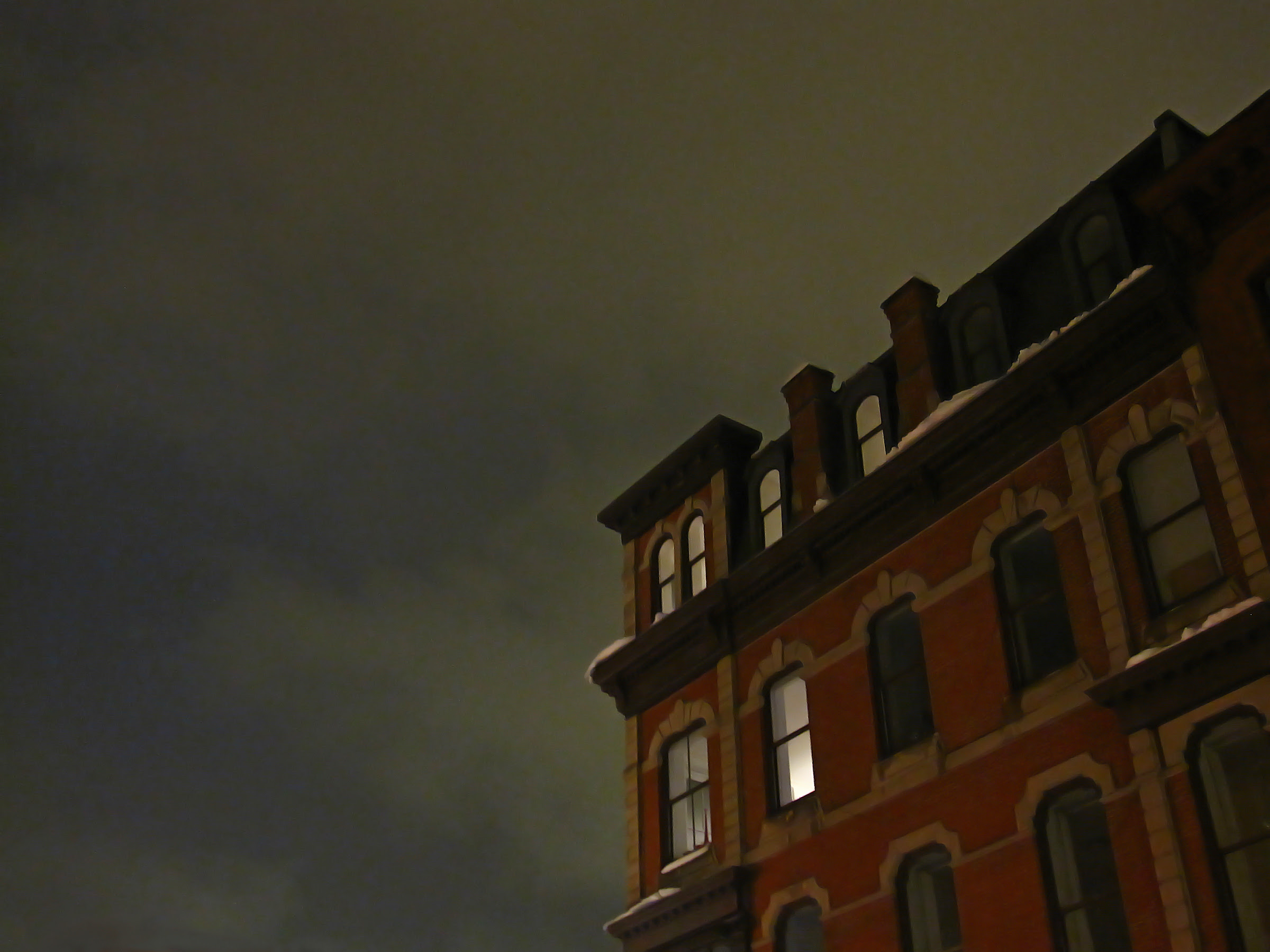 Spooky night on Bowery