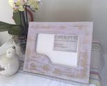 Reclaimed handmade photo frame