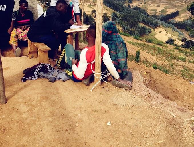 Babiri bagaragaye bakubita umuturage aziritse i Rutsiro batawe muri yombi - #rwanda #RwOT