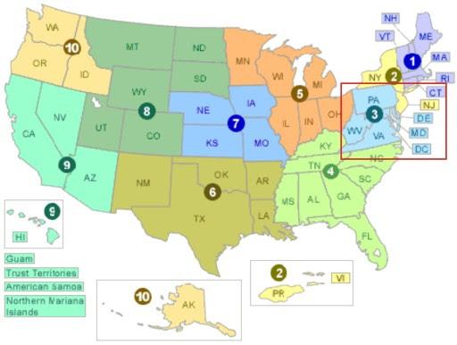 FEMA regiones mn2