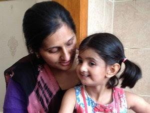 Maha Asghar foi diagnosticada com a Síndrome Parry-Romberg (Foto: BBC)