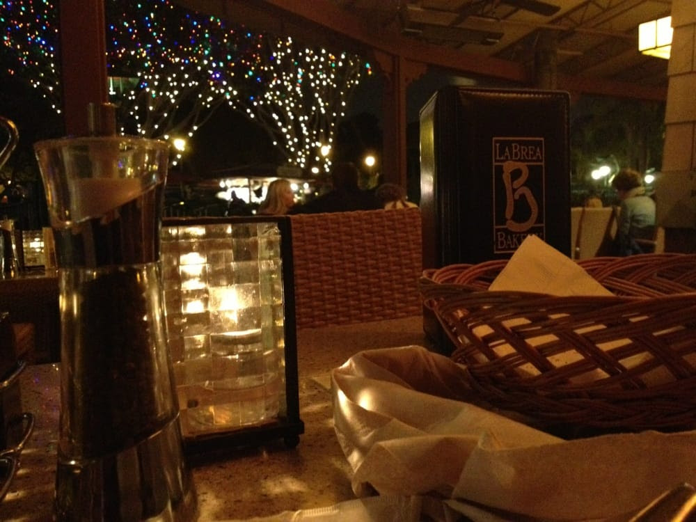 La Brea Bakery Cafe - Anaheim, CA, United States. Great dinner setting.
