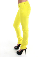 Cassette Skinny Denim jeans in Yellow