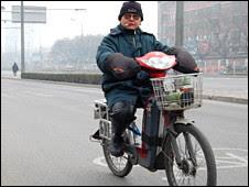 Sepeda listrik di Beijing