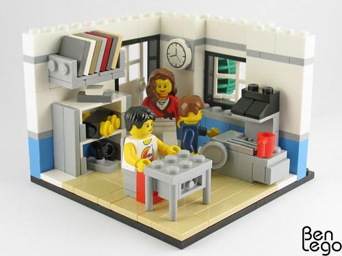 Lego classroom by benlego.