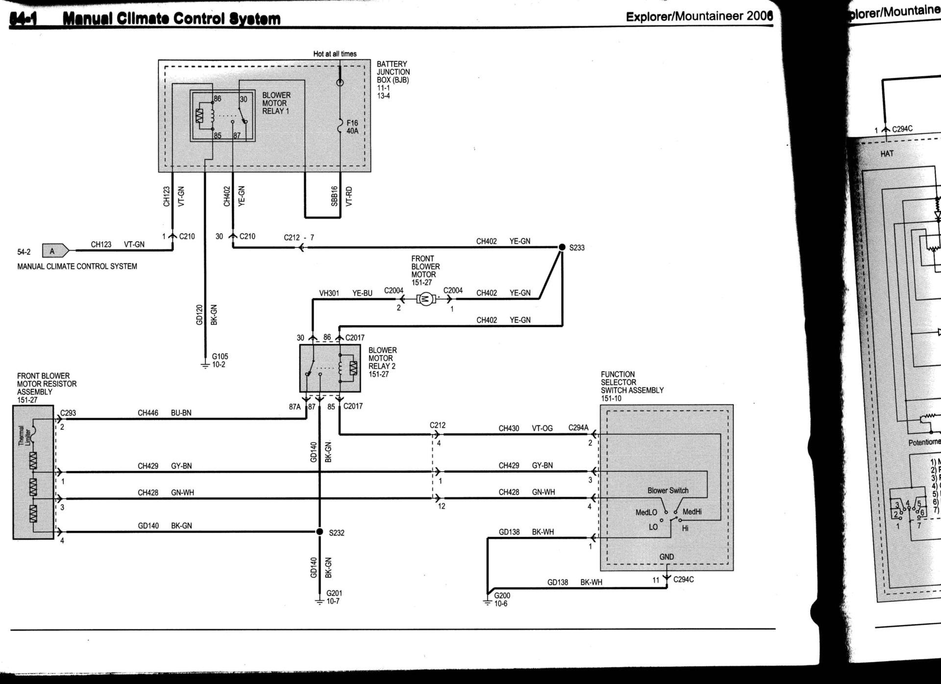 Ford Explorer Ac Wiring Diagram
