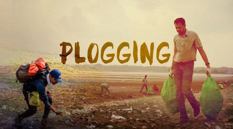 plogging, fitness craze india, fitness trend, pick up garbage fitness, plogging in india, swedish fitness trend, indian express, indian express news