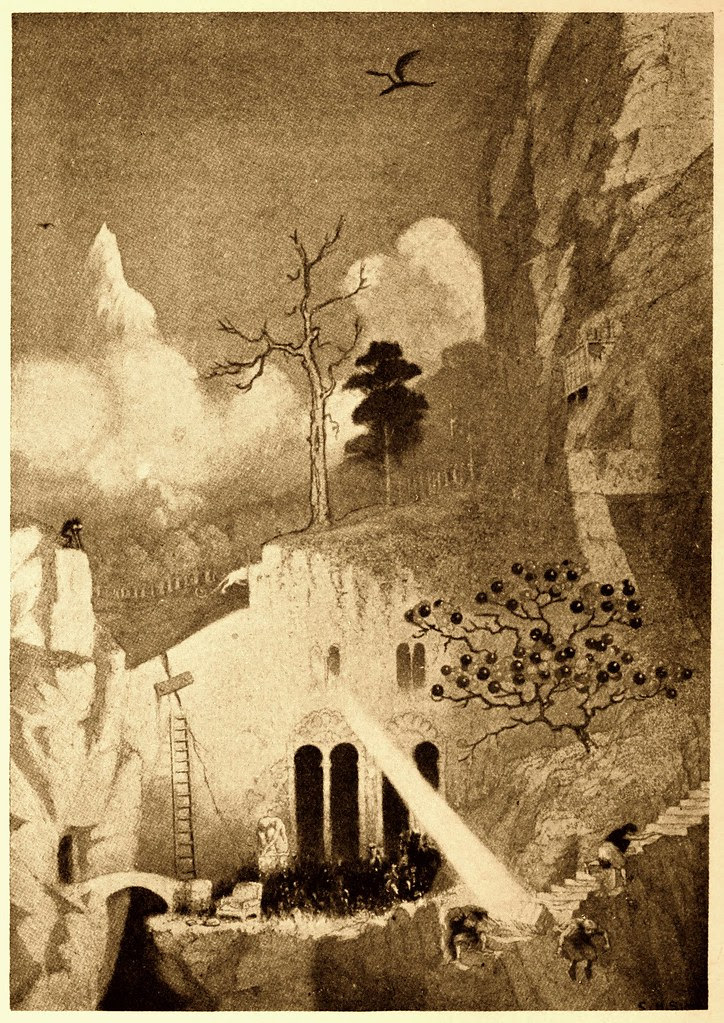 Sidney Sime - The Edge of the World (1912)