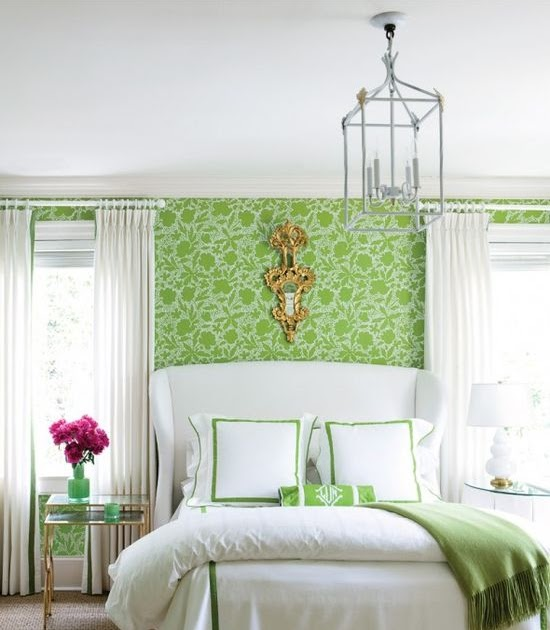 Bed Room Photos: Relaxing Green Bedroom Decorating Ideas