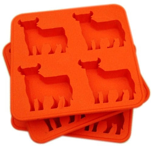 Cow Ice Mold Got Beef