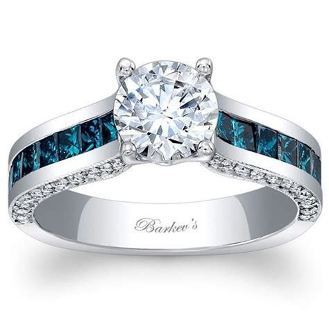 Ben Garelick Jewelers · Barkev's 14K Blue Diamond Princess