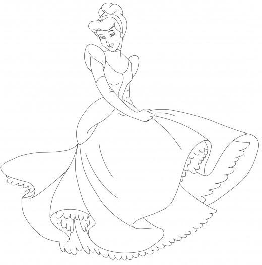 coloring pages disney princesses belle. Belle Coloring Page