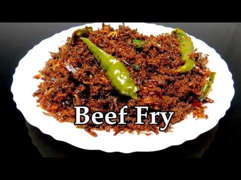 Beef Chathachu Ularthiyathu | Beef Dry Fry Kerala Style Recipe