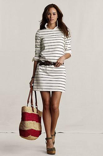 Canvas Stripe Dress