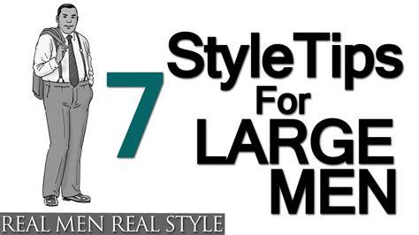 style tips  large men big mans guide  sharp