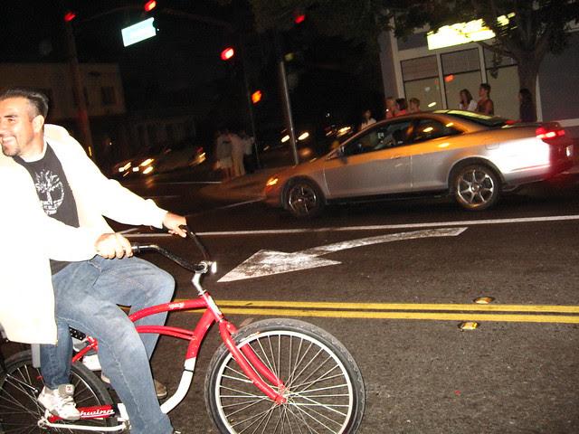 Dad on wheels