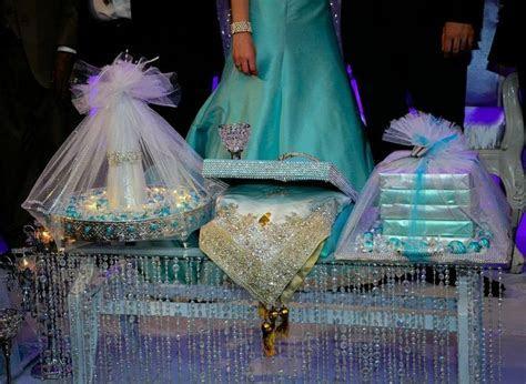 Afghan Engagement shirni tray candy and shawl .   Myras