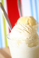 Coffee Hazelnut Ice Cream and Honey Ginger Gelato