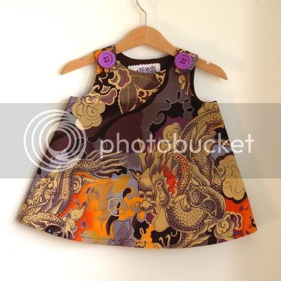 japanese tattoo baby dress
