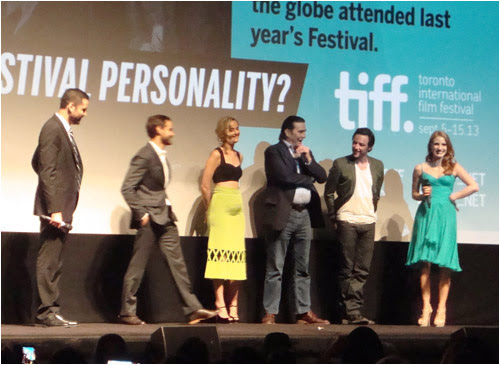 The Disappearance of Eleanor Rigby Q & A, Elgin theatre, TIFF,