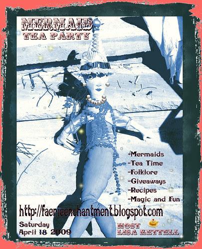 mermaid tea party, New Date!