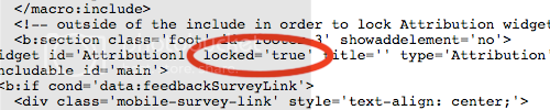 blogger attribution widget