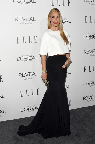 Model Molly Sims attends ELLE's 21st Annual Women in Hollywood Celebration at the Four Seasons Hotel on October 20, 2014 in Beverly Hills, California.