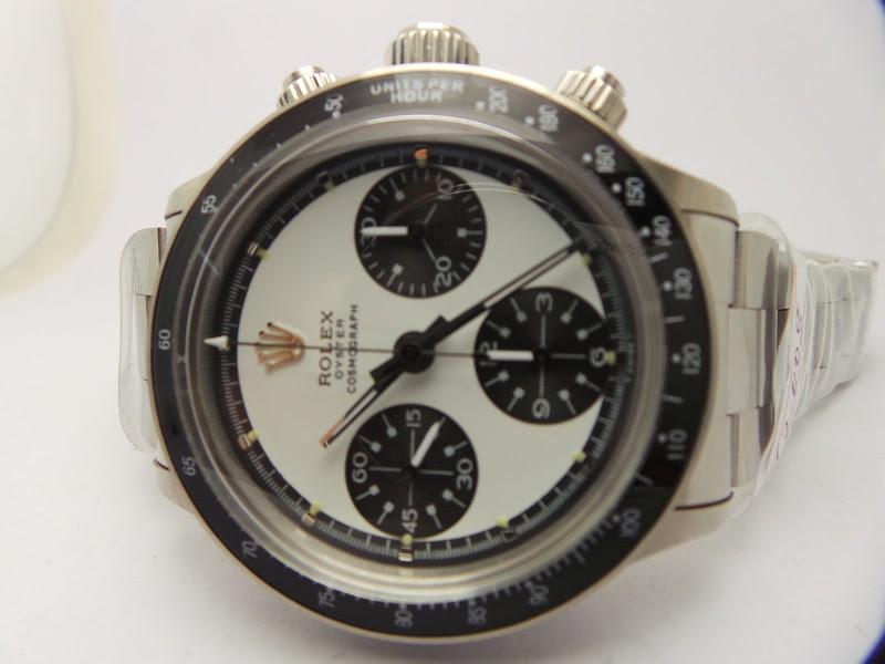 Rolex Daytona Paul Newman 6263 White Dial