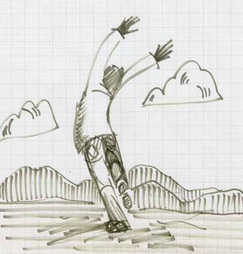Illustration Friday: rambunctious - a