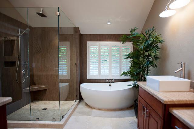 Carlsbad Master Bath - contemporary - bathroom - san diego - by ...