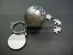 bastique's Wikipedia globe keychain photo