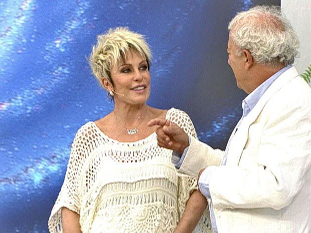 Ana Maria revela inscrição para viagem no espaço (Foto: Mais Você / TV Globo)