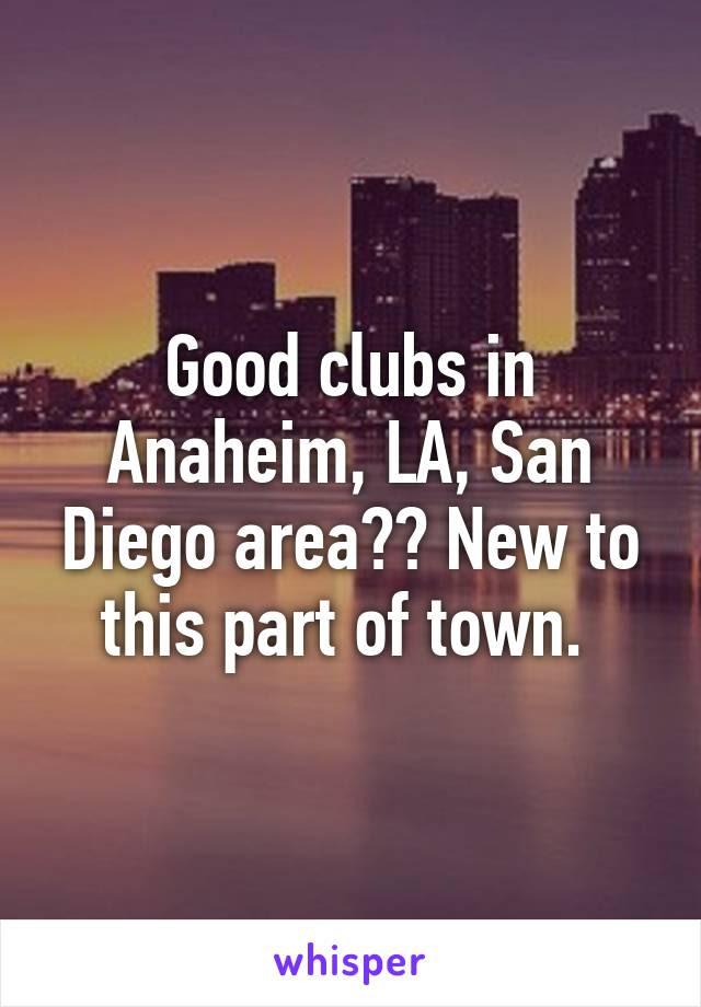 Anaheim Clubs