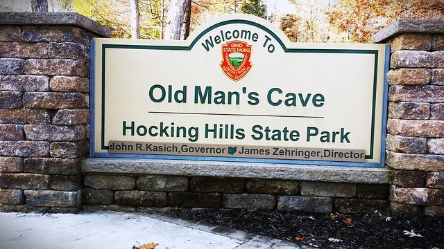 Classic Man Cave Jobs : Great lakes mile eater old man s cave ohio