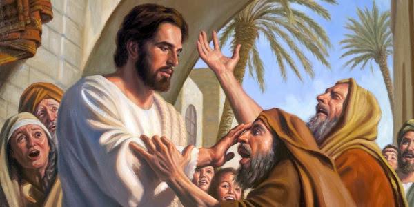 Resultado de imagem para jesus cura dois cegos