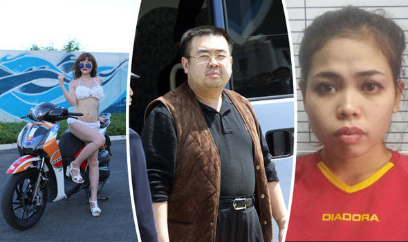 Image result for two women charged in kim jong nam death