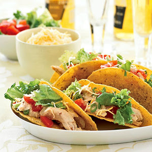 Spicy Chicken Tacos