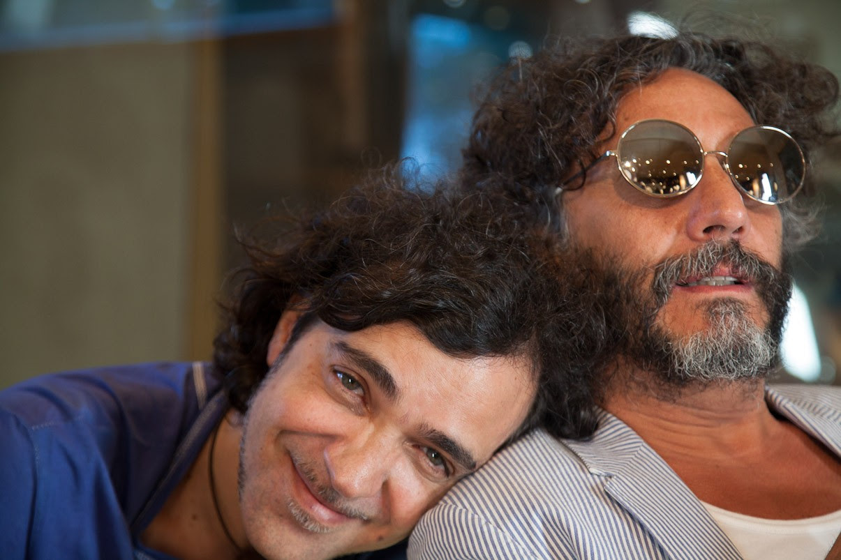 Moska e Fito Paez (Foto: Debora 70)