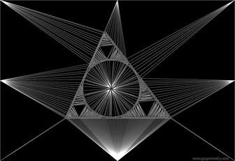 Math: Geometric Art: Inscribed Circle, Incircle for Kids