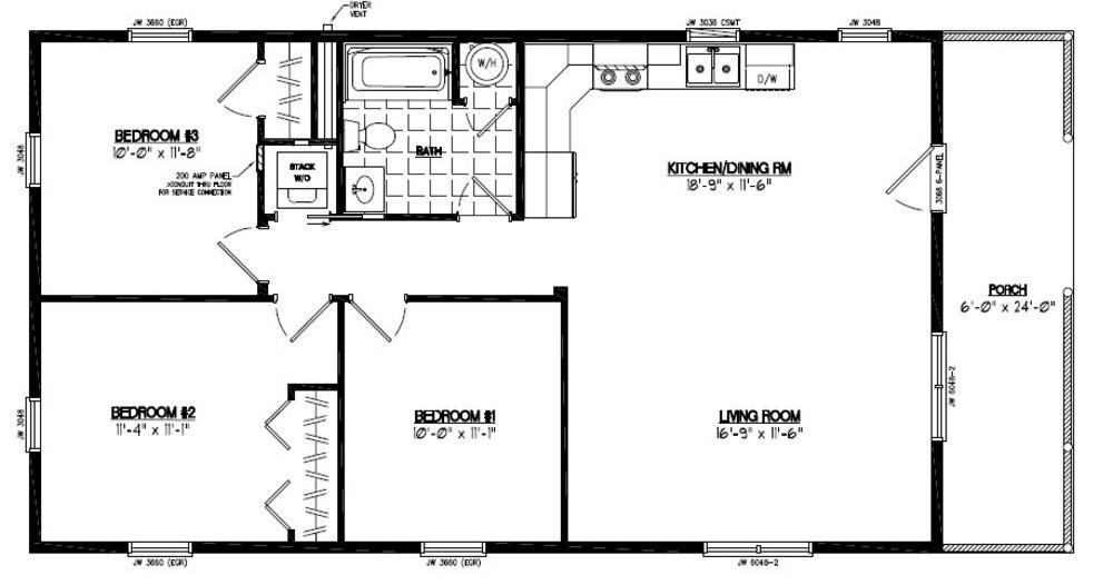 21 Beautiful 24X48 House Plans on 20x40 one-bedroom floor plans, dueplex floor plans, duplex home floor plans,