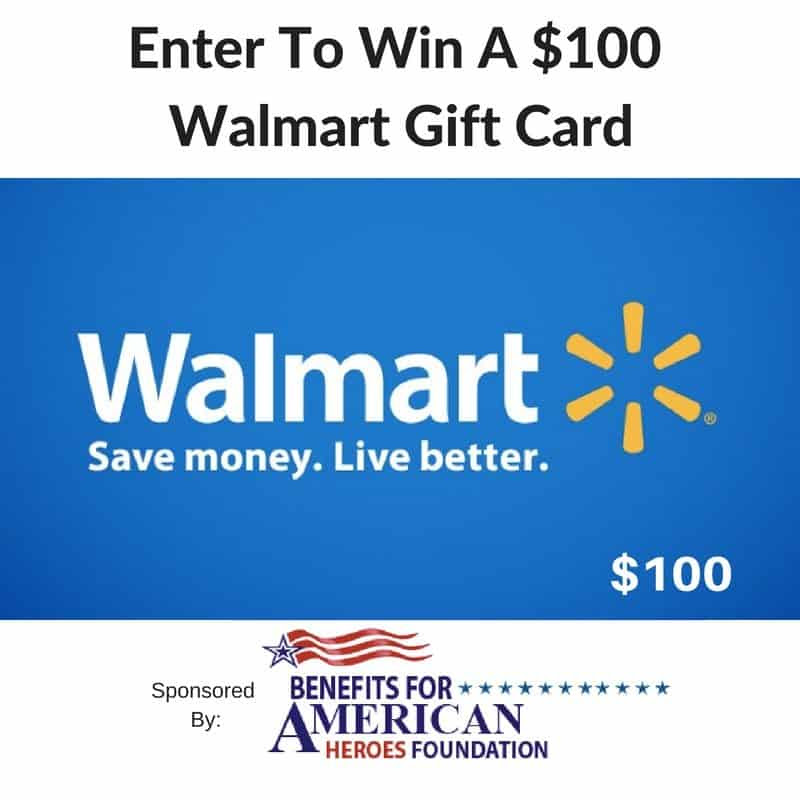 Benefits For Veterans + Enter To Win A $100 Walmart Gift Cards