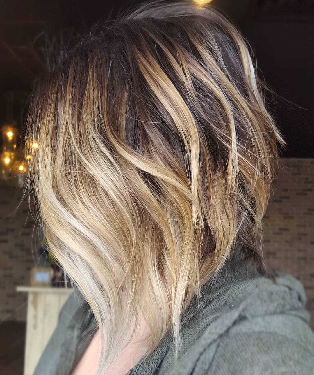 10 Cute Medium Hairstyles With Gorgeous Color Twists Medium