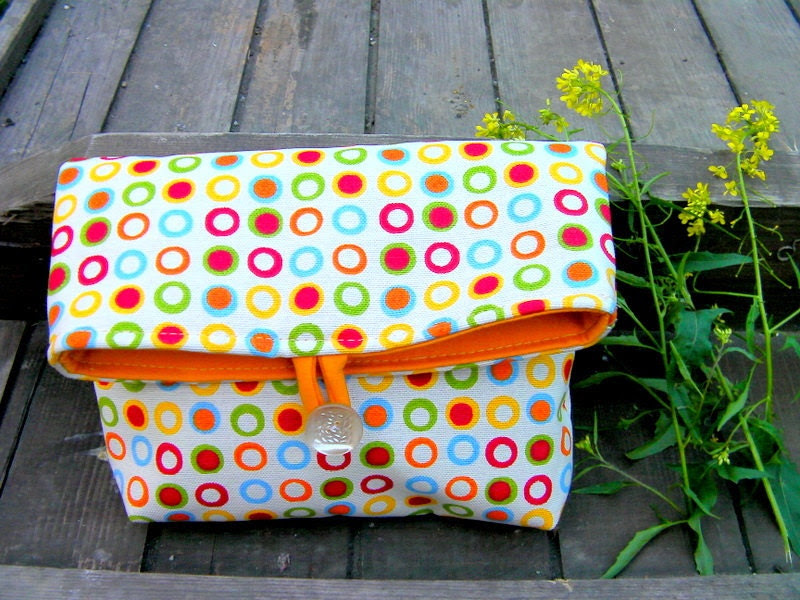 Points-clutch/ make up bag/Bridesmaid gift