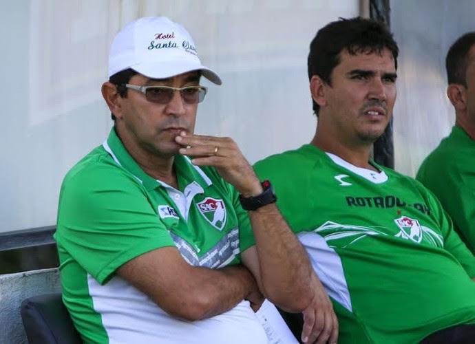 Sérgio China, técnico do Salgueiro (Foto: Ailton Cruz / Gazeta de Alagoas)
